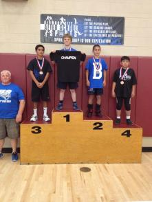 Congratulations, Mateo! That was some weight pool you were in in!
