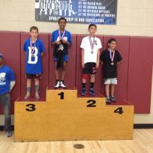 Rylan took 4th in his weight pool against some very stiff competition.
