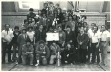Championship team photo at PAL finals